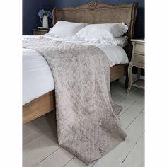 Buy the beautifully designed Grey Floral Cascade Bedspread, by The French Bedroom Company. Shop 24 hours a day for Effortless Luxury Online. Luxury Bedding Collections, Luxury Bedding Sets, Luxury Bedspreads, Nursery Bedding Sets Girl, Bedding Websites, Quilted Bedspreads, French Furniture, Bed Throws, Linen Bedding