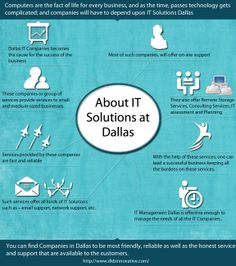 Dallas IT Consulting and IT Support from DKBInnovative. We provide Dallas and Fort Worth with managed IT consulting services. Simply amazing. Log On http://www.dkbinnovative.com/