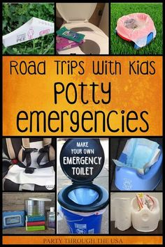 How to Avoid Potty Emergencies on road trips with kids. Learn how to stay away f. - How to Avoid Potty Emergencies on road trips with kids. Learn how to stay away from dirty bathrooms - Toddler Potty, Kids Potty, Toddler Toys, Best Potty Training Seat, Portable Potty Seat, Baby Potty Seat, Kids Toilet, Toilet Step, Toddler Beach