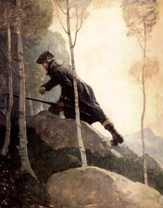 Newell Convers Wyeth | Something's Out There