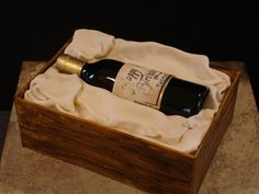 Wine bottle cake — Beer / Wine / Cigars