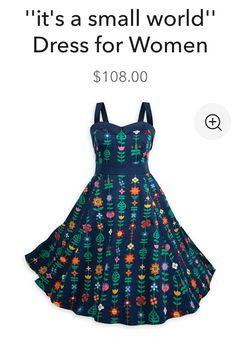 Disney dress, it's a small world