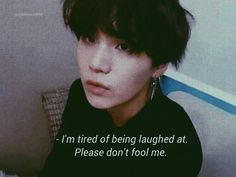Why would I ever laugh at you, Yoongi baby? Bts Suga, Bts Memes, Bts Qoutes, Bts Lyric, Funny Baby Quotes, Erza Scarlet, Frases Tumblr, Wattpad, Yoongi