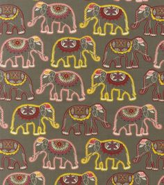 Is this the cutest fabric in the world?  Just possibly.  Just saw it on Joann's website.