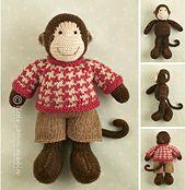 Ravelry: Boy Monkey pattern by Julie Williams
