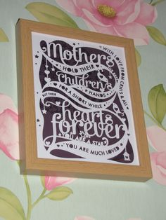 Samantha's Papercuts: Mother's Day