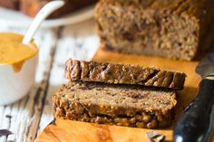 Paleo Chocolate Almond Banana Bread