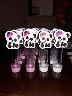 Chá de bebê panda rosa Panda Themed Party, Panda Birthday Party, Panda Party, Birthday Parties, Panda Decorations, Panda Bebe, Maria Alice, Baby Shower, Party Themes