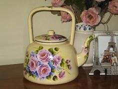 Smaller Items: Oldkettle♡♡♡♡     Wendy Moroz board Painting Ideas, great board!