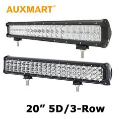 78.77$  Watch now - http://aliyp1.worldwells.pw/go.php?t=32379320072 - Auxmart 20 inch CREE Chips LED Light Bar 5D 210W 3-Row 252w Offroad Light 4x4 Driving Lamp 12V 24V Truck SUV Pickup ATV 4WD RZR 78.77$