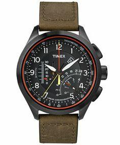 Timex Watch, Men's Chronograph 45mm