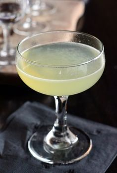 The Last Word | Barman's Journal #Gin #greenchartreuse #vintage #cocktail #recipe