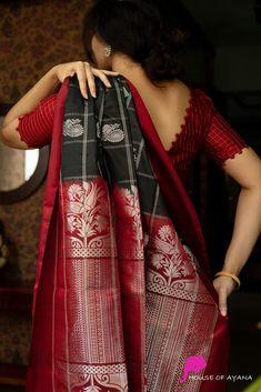 Simple Blouse Designs, Silk Saree Blouse Designs, Stylish Blouse Design, Blouse Neck Designs, Blouse Patterns, Silk Sarees Online Shopping, Designer Silk Sarees, Stylish Sarees, Designs For Dresses