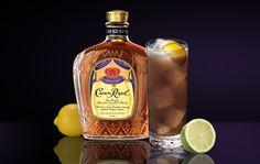 Crown Royal® Long Island Iced Tea    Crown Royal® - .75 oz.   Smirnoff® Vodka - .25 oz.   Tanqueray® Gin - .25 oz.   Myer's® Platinum Rum - .25 oz. Add a Splash of Lemon Lime Soda, Cola & Sour Mix