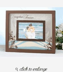 This unity sand picture frame is designed to be used in place of a unity sand vase during the wedding ceremony, with bride and groom both filling it with sand. The frame is resin and measures 11 Sand Ceremony, Wedding Ceremony, Our Wedding, Wedding Ideas, Wedding Stuff, Wedding Bells, Wedding Details, Dream Wedding, Sand Pictures