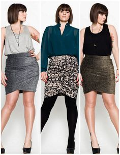 Love the print skirt@Carmakoma skirts too... k?!#Repin By:Pinterest++ for iPad#