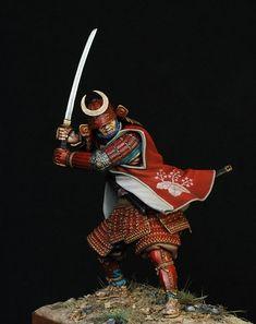 Samurai in full armour