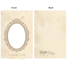 *7 Gypsies BOOK COVER OVAL VINTAGE FRAME 10107 Album Binderie 2012