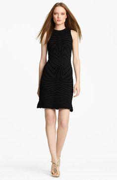 Roberto Cavalli Zebra Knit Dress available at #Nordstrom