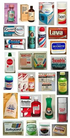 Still use some of these long known products!