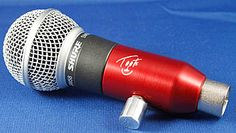 BlowsMeAway Productions. Highly modified SM58 microphone for harmonica, very jealous!