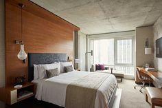 Award-winning design studio Jeffrey Beers International (JBI)'s work at the Renaissance New York Midtown...