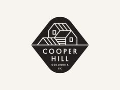 Cooper Hill designed by Jay Fletcher. Connect with them on Dribbble; Typography Logo, Typography Design, Logo Branding, Corporate Branding, Graphic Design Branding, Brand Identity Design, Logo Inspiration, Type Logo, Logo Luxury