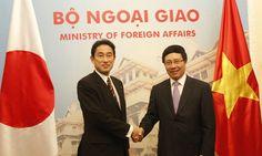 Ngoại trưởng Nhật Bản Fumio Kishida, đang ở thăm Hà Nội, cho biết Nhật sẽ cung cấp 6 tàu và trang thiết bị nhằm giúp Việt Nam tăng năng lực thực thi luật pháp trên biển.