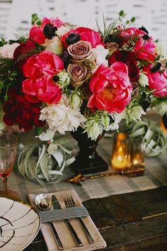 Photographer: Caroline Wineta from Tinywater Photography / Designer + Planner: Yelena Johnson, Stylish Soiree / Vintage Rentals: One True Love Vintage / Florist: Soulflower Floral Design / Cake: The Whole Cake