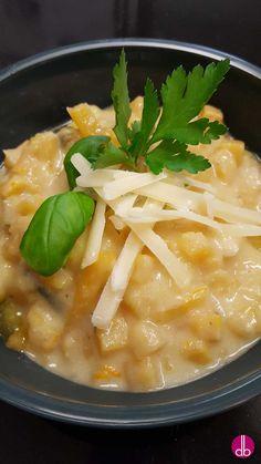 Steckrüben-Gorgonzola-Sauce für Pasta