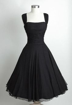 50s Short Black Vintage Hepburn Dresses Party Dresses 1950'S Dresses Square Neckline Tea Length Dresses Ball Gown Ruffled Bodice Shelf Bust Sexy Party Dresses With Sleeves Buy Party Dress From Graceful_ladies, $86.55| Dhgate.Com