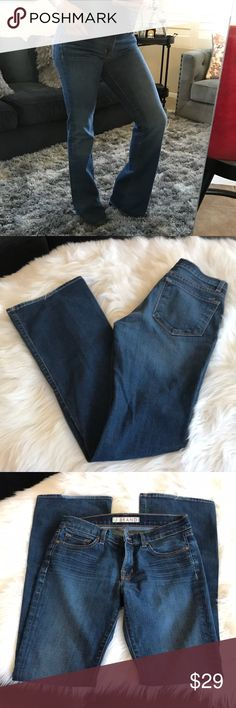 J brand jeans Great condition J Brand Jeans size 27 inseam 33 J Brand Jeans Boot Cut