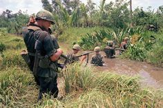 Fifty years ago, in March 1965, 3,500 U.S. Marines landed in South Vietnam, the first American combat troops on the ground in a conflict that had been building for decades.