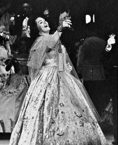As Violetta,Met,1970