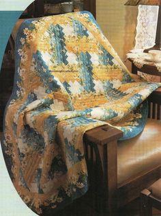 Weaver Fever Quilt Pattern Pieced JR