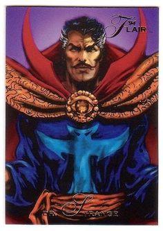 Doctor Strange Marvel Flair Trading Card #12 (1994)
