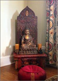 creating a home altar