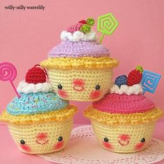 Willy-Nilly Waterlily: crochet