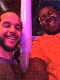 Me And Isaac Sawyer Chilling Out At Silvana's Open Mic With The Shed Birthday Bash