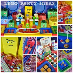 The LEGO Movie watching party ideas blog hop