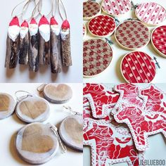 The Scandinavian Christmas Tree Ornaments | Ashley Hackshaw / Lil Blue Boo