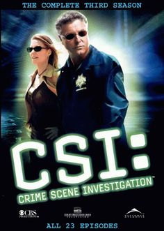 CSI...the original cast was the best! Don't like the newer version at all.