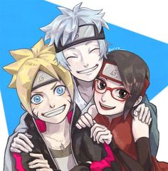 31 Best Team Konohamaru 7 Images In 2018 Team 7 Anime Naruto