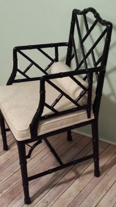 Baker Faux Bamboo Chinese Chippendale by HouseofVintageLovely