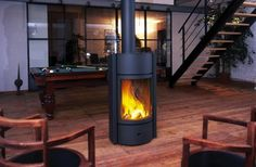 Learn more about the Stuv 30 - EPA 2020 Approved among the fireplace products at Hearth and Home Calgary. Gas Wood Burner, Modern Log Burners, Double Sided Stove, Contemporary Wood Burning Stoves, Barn Conversion Interiors, Large Open Plan Kitchens, Stove Fireplace, Fireplace Ideas, Multi Fuel Stove