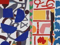 Elles@centrepompidou - Shirley Jaffe, All Together, 1995