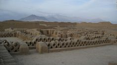 04 UNESCO endangered American heritage sites RESTRICTED.  Chan Chan Archaeological Zone, Peru.
