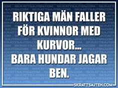 Bara hundar jagar ben - Skrattsajten Motivational Quotes For Life, Funny Quotes, Cool Words, Wise Words, Life Motivation, Love Life, Good To Know, Wisdom, Humor