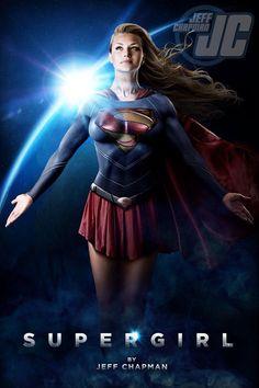 Super girl. Girl power!!