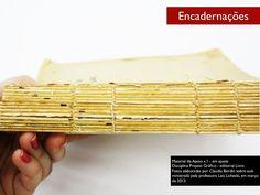Encadernação de livros - imagens by profclaubordin via slideshare